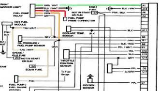 1986 gmc purple wire fuel pump runs pouring gas in