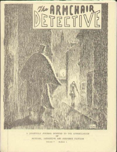 armchair detective contents lists