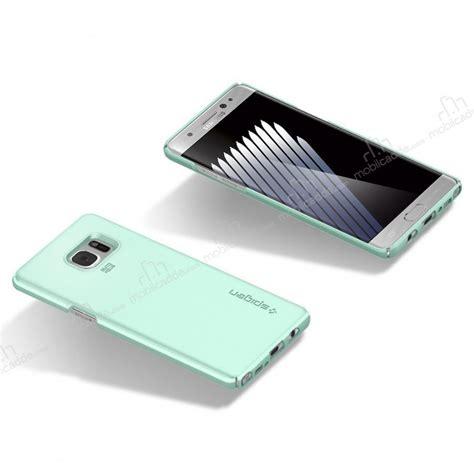 Spigen Thin Fit For Galaxy Note Fe Note 7 Blue Coral spigen thin fit samsung galaxy note fe mint rubber kılıf