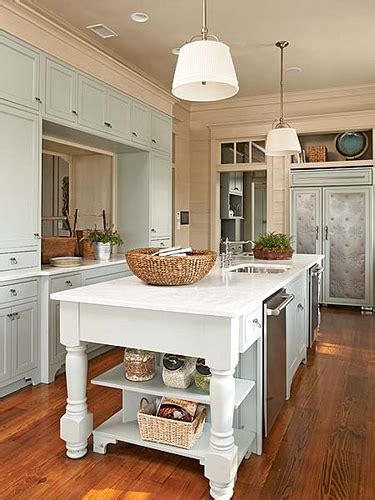 cottage style kitchen islands cottage kitchen inspiration the inspired room