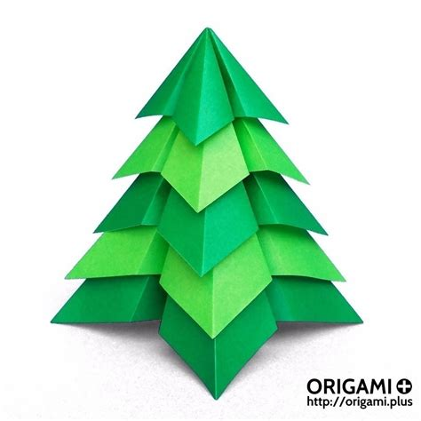 origami christmas tree by st 233 phane gigandet origami to