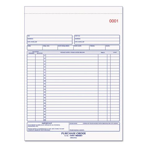 Purchase Order Letter For Books 38 best images about purchase order forms on