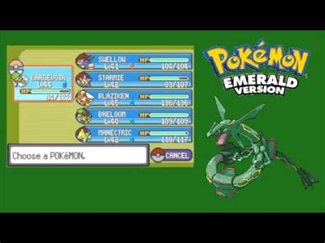 strongest pokemon in emerald based on base total stats no pok 233 mon emerald elite four chion and the ending
