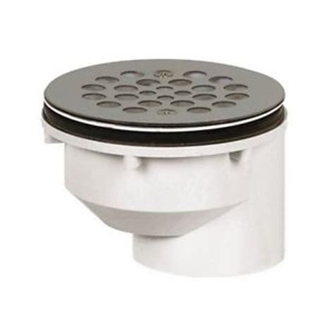 sioux chief shower drain installation sioux chief 825 2pfs on shower drain strainer 2 pvc