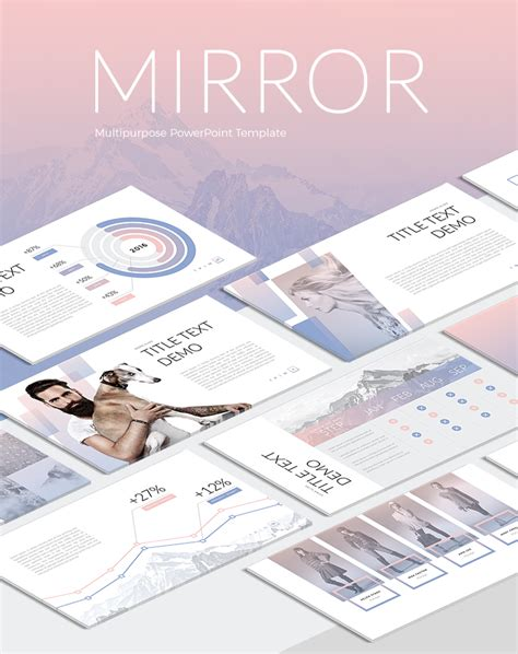 mirror will template mirror powerpoint template now