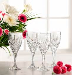 galway crystal tralee set of 4 wine glasses shopcookware