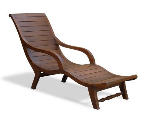 Lazy Chair by Teak Lounger All Garden Chairs