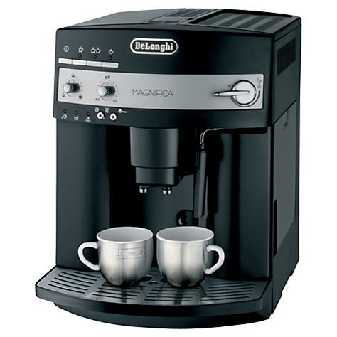 Buy De'Longhi ESAM3000.B Magnifica Bean to Cup Coffee Machine, Black   John Lewis