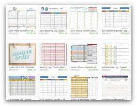 7 best images of organizing goal printables free