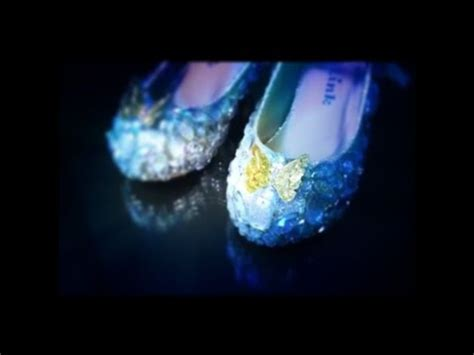 diy cinderella shoes how to cinderella s glass slippers diy funnycat tv