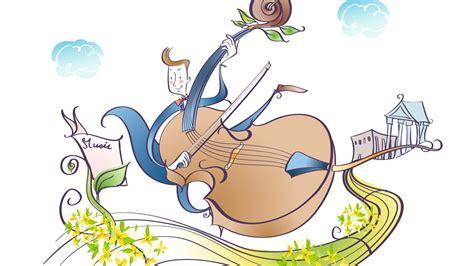 imagenes animadas musica vectorial de dibujos animados de m 250 sica 13 1366x768