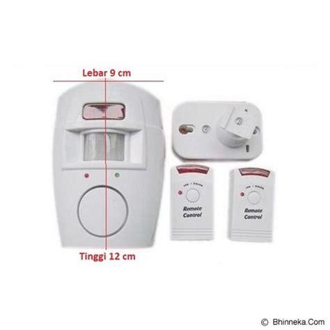 Jual Alarm Rumah Sensor Gerak jual uniqtro alarm rumah sensor gerak remote murah bhinneka mobile version