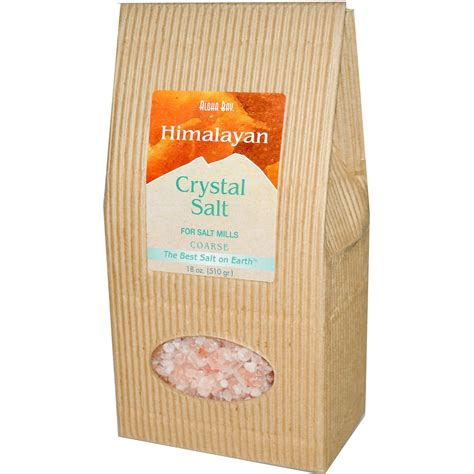 himalayan natural crystal salt l aloha bay himalayan crystal salt coarse 18 oz 510 g