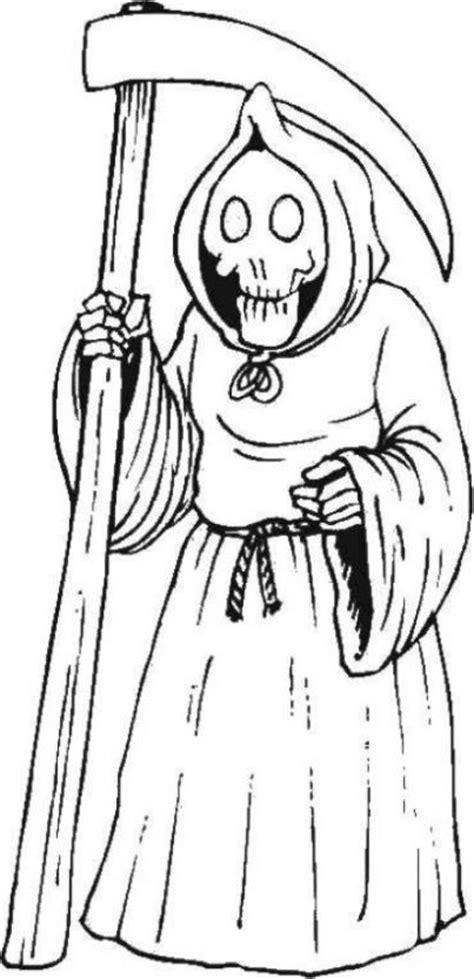 dibujo de muerte con capucha para colorear dibujos net im 225 genes de la santa muerte en dibujo im 225 genes de la
