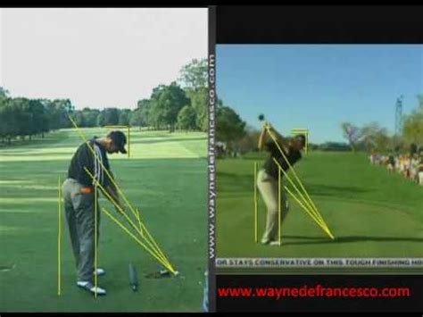 ernie els swing analysis ernie els swing analysis youtube