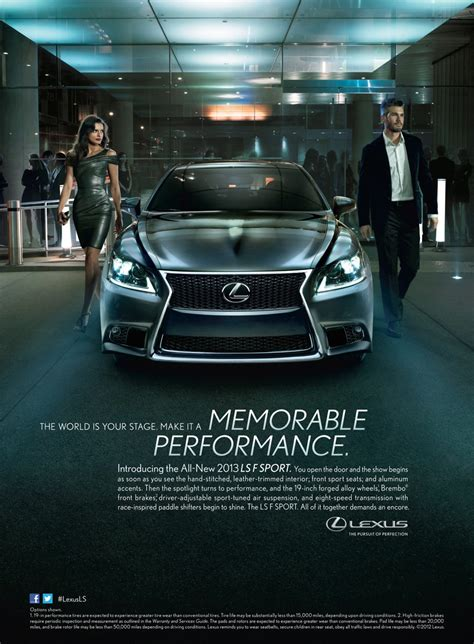 lexus ads 2017 2012 lexus ls advertising caign advertising society