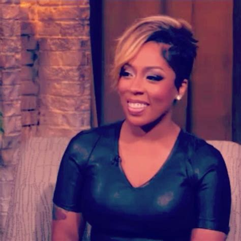 k michelle hairstyles k michelle s hair cut is lovely cute short hair
