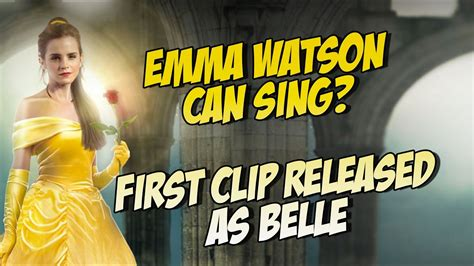 emma watson singing autotune emma watson can sing with auto tune beauty and the