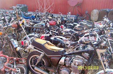 honda junk yards motorcycle salvage vintage junk yard parts 300 honda 750