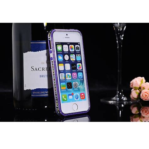 Sulada Bumber Frame Colorful Border Series For Iphone 55sse Purple sulada bumber frame colorful border series for iphone 4 4s purple jakartanotebook
