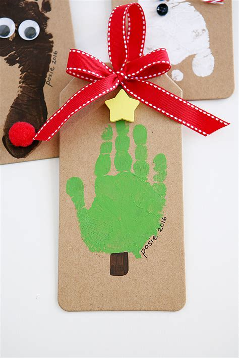 handprint christmas ornaments cute girls hairstyles