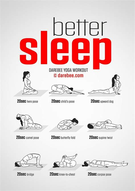 Exercises To Do Before Bed by Darebee On Quot New Better Sleep Workout Https