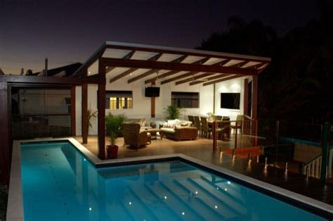 house design and drafting brisbane new timber deck covered gazebo swimming pool holland