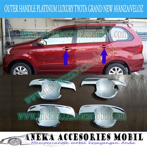 Outer Handle Hilux Model Platinum outer handle model platinum toyota grand new avanza