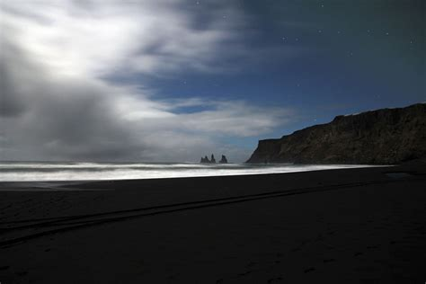 black sand black sand iceland feel the planet