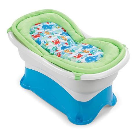 summer infant right height bath tub baby gear