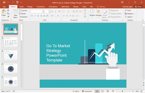 Best Go To Market Strategy Templates For Powerpoint Powerpoint Template Strategy