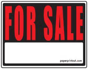 sale sign templates free for sale signs free printable for sale sign templates