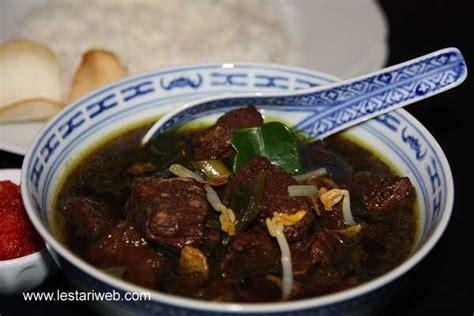 resep masakan indonesia resep masakan rawon semarang
