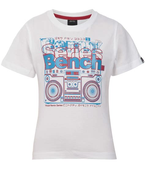 bench t shirt prices bench childrens bench blaster t shirt white review