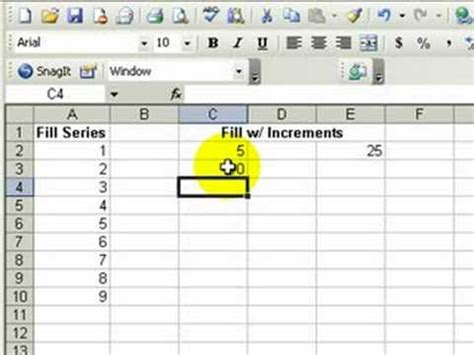 Spreadsheet Autofill by Autofill Options In Ms Excel