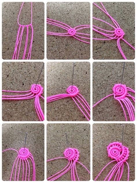 How To Do Macrame - 1000 images about macrame on collar