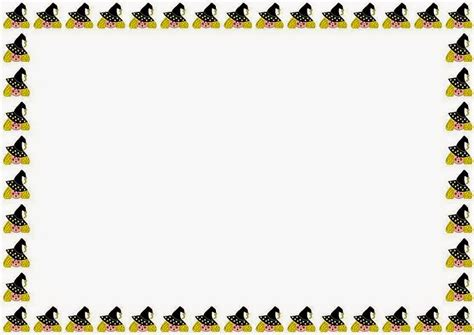 free printable halloween borders invitations halloween card border pictures to pin on pinterest pinsdaddy