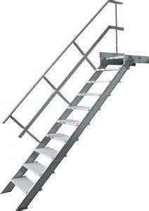 escalier alu escalier droit aluminium construction speciale aluminium
