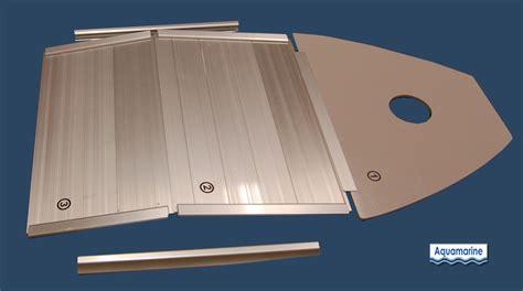 inflatable boat hard floor aluminum floor for 7 5 inflatable boat aquamarine