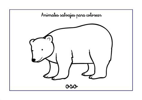 imagenes de animales salvajes para dibujar dibujos de animales salvajes para colorear