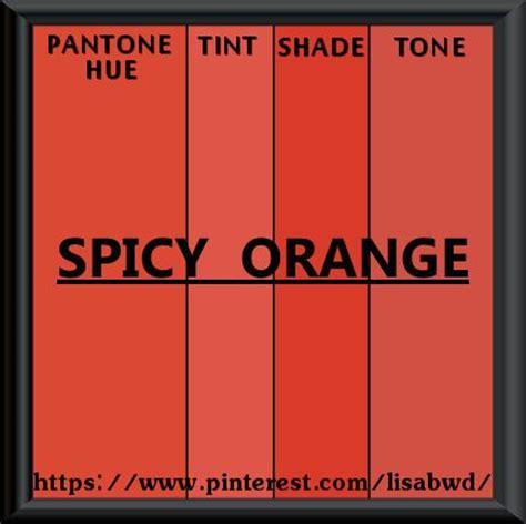 pantone seasonal color swatch spicy orange my pantone seasonal color swatch s