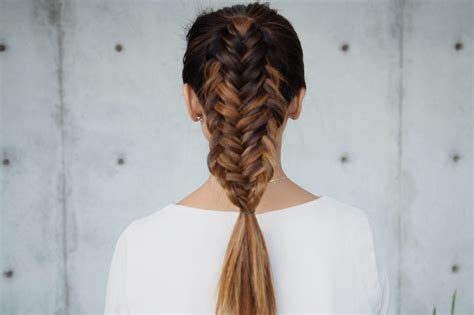 Fishtail Braid Hairstyles by Fishtail Braid Top 25 Beautiful Fishtail Braids