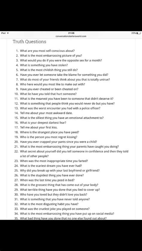 Or Questions For Teenagers Questions