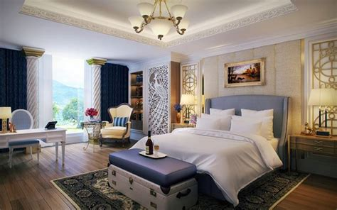 Bedroom design and wall colors ? charm and luxury in the