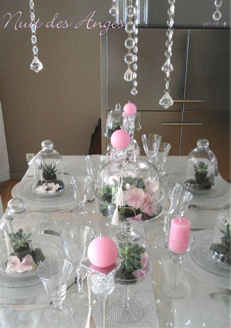 decorations de table d 233 coration de table quot les succulentes quot nuit des anges