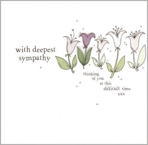 sympathy cards handmade sympathy card by eggbert notonthehighstreet
