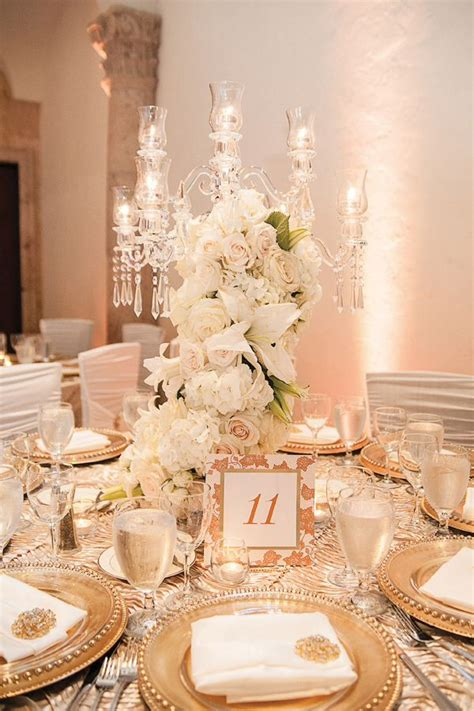 white gold wedding decorations gold and white wedding theme