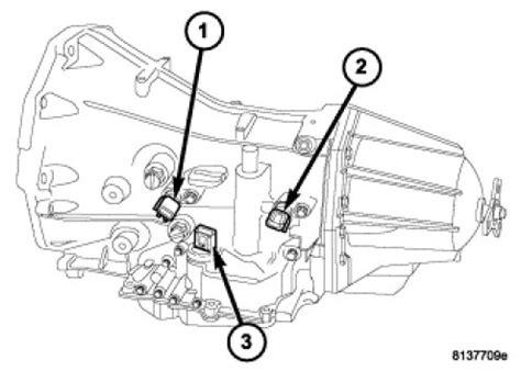 06 chrysler 300 5 7l where is the transmission speed sensor