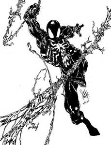 spiderman ink by s havrisik on deviantart