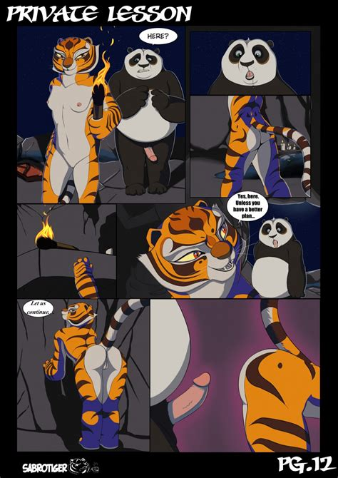 Private Lesson Update Kung Fu Panda Sabrotiger Comics Manics
